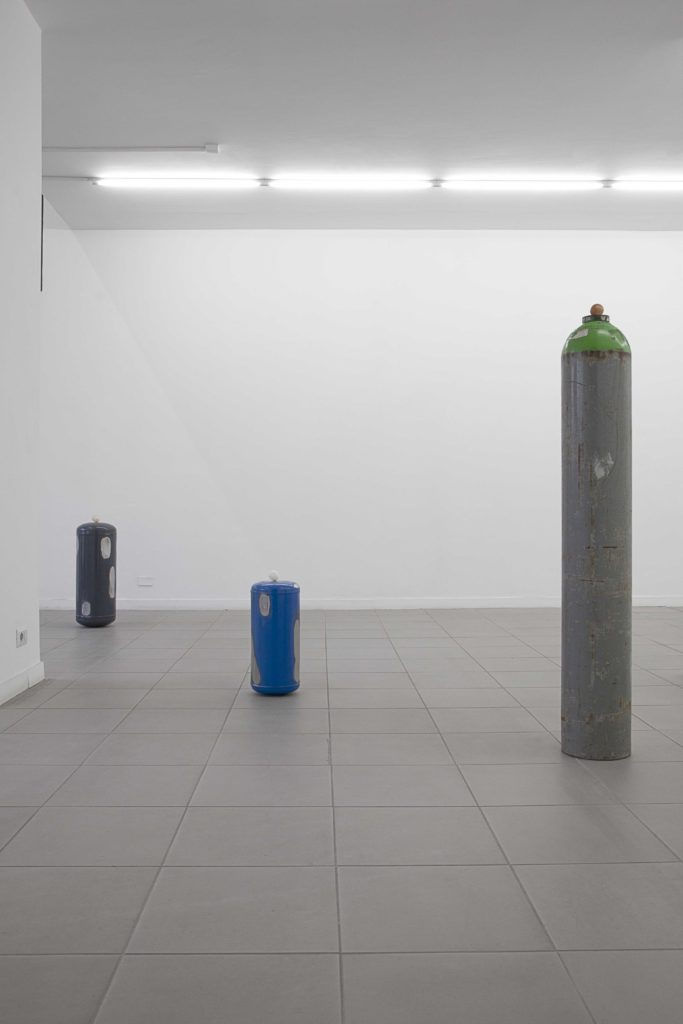 Sealed Vessels, 2018, variable sizes, installation view at The Gallery Apart Rome, ph. Florian Neufeldt