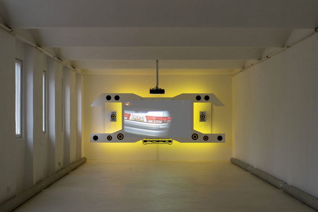 Petrichor, installation view at Futura Prague, 2019