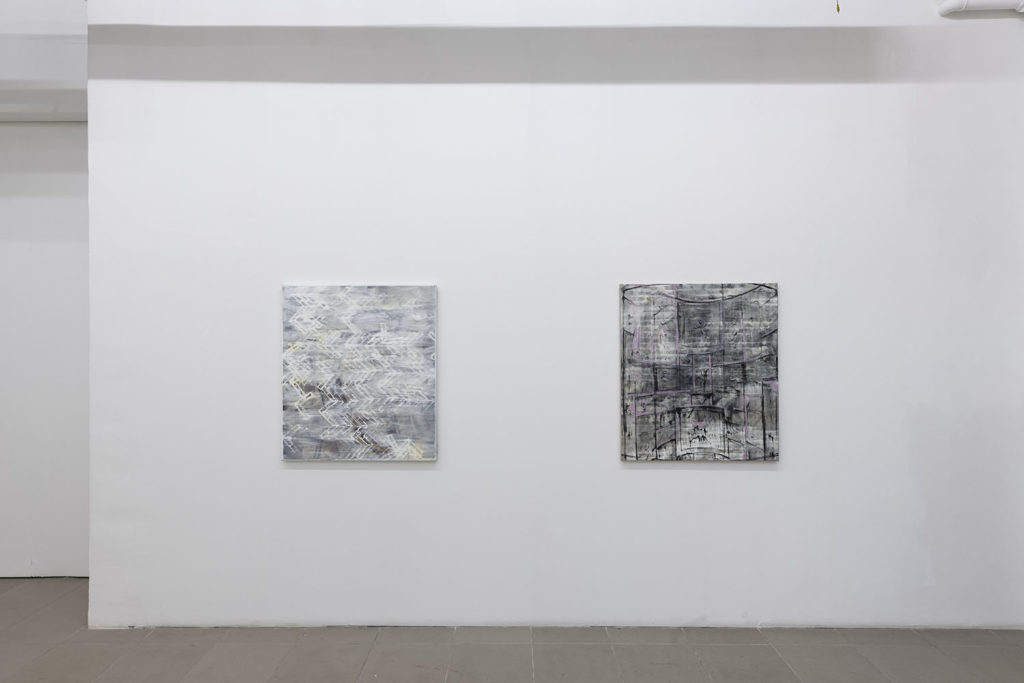 I still paint, installation view at The Gallery Apart Rome, 2020