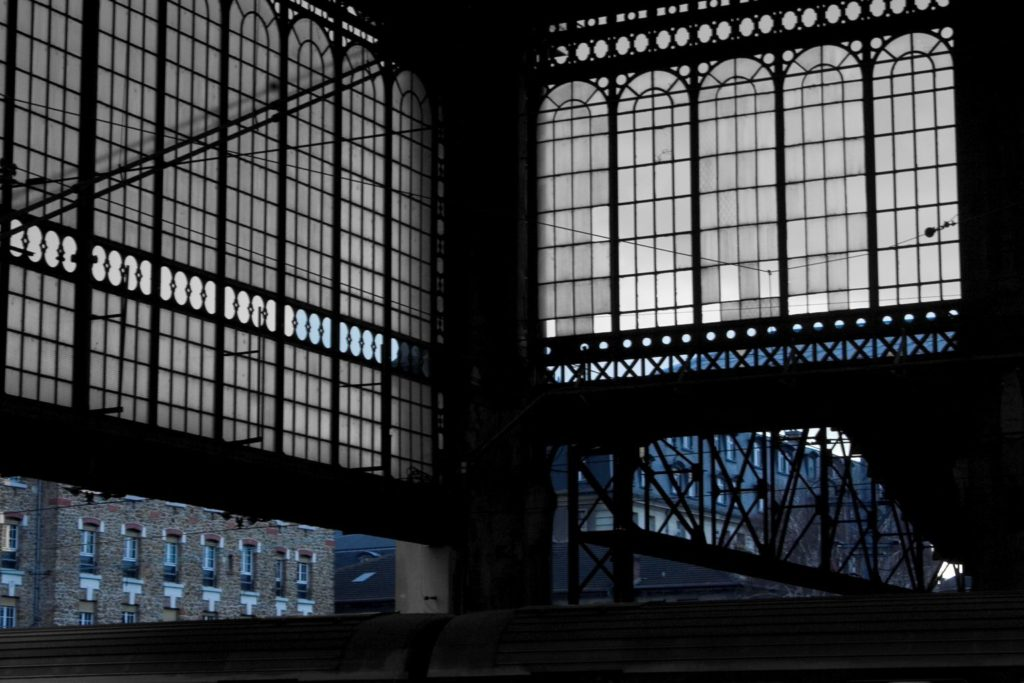 Ciao, Studio #2 Gare d'Austerlitz, 2011, photo on aluminium, cm. 80x120, ed. 3
