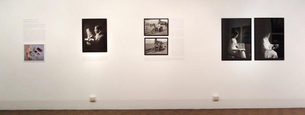 El tiempo de alzar los ojos, 2015, installation view at Istituto Italiano di cultura Lima, Perù