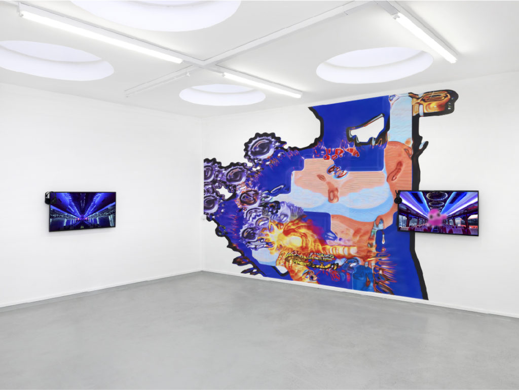 Guilt Trip, installation view at Quark Geneva, 2019, ph. Annik Wetter
