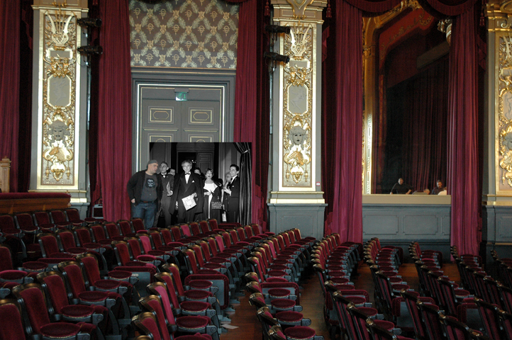 Forever Montecarlo - Jean Cocteau_Opéra, 2013, digital photo print on aluminium, cm 67x100x2
