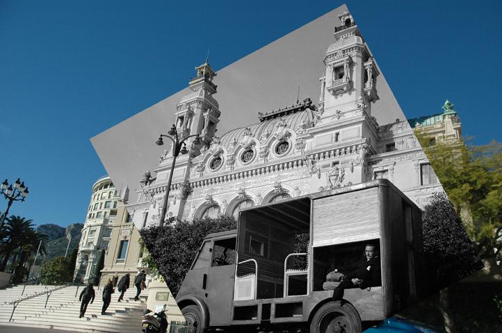 Forever Montecarlo - Salvador Dali_Terrasse Opéra, 2013, digital photo print on aluminium, cm 67x100x2