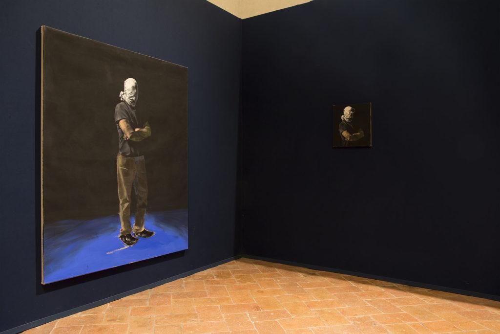 Uppercrust, installation view at Palazzo della Corgna, Castiglione del Lago, 2019