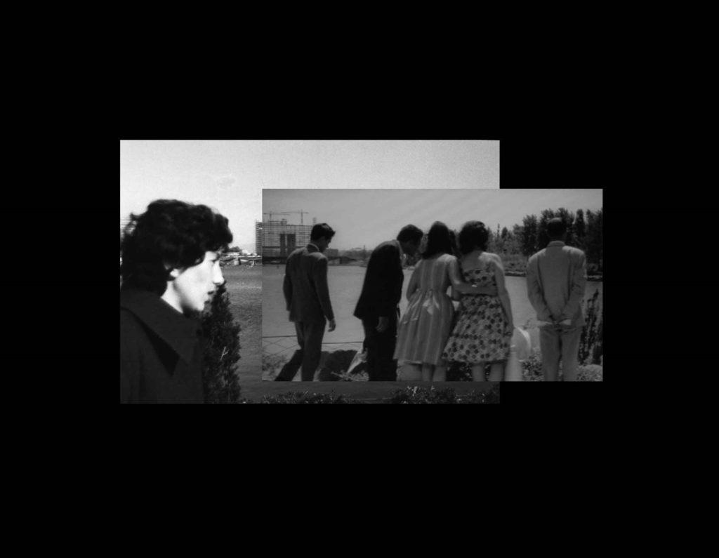 Visioni dell´EUR - Enrichetta e L'eclisse, 2002/2006, photo printed on alumium, cm 70x100