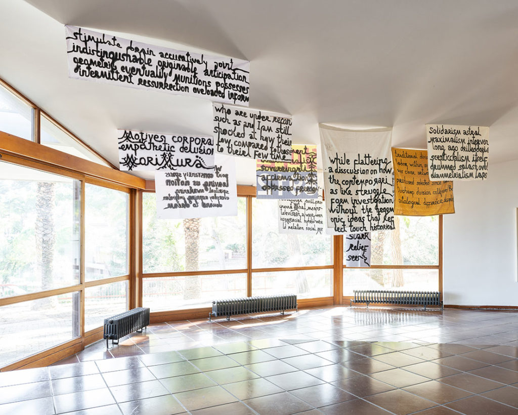 HISTORY REPEATS HISTORY, installation view at Fondazione Zimei Montesilvano (I), 2020, ph. Massimo Camplone
