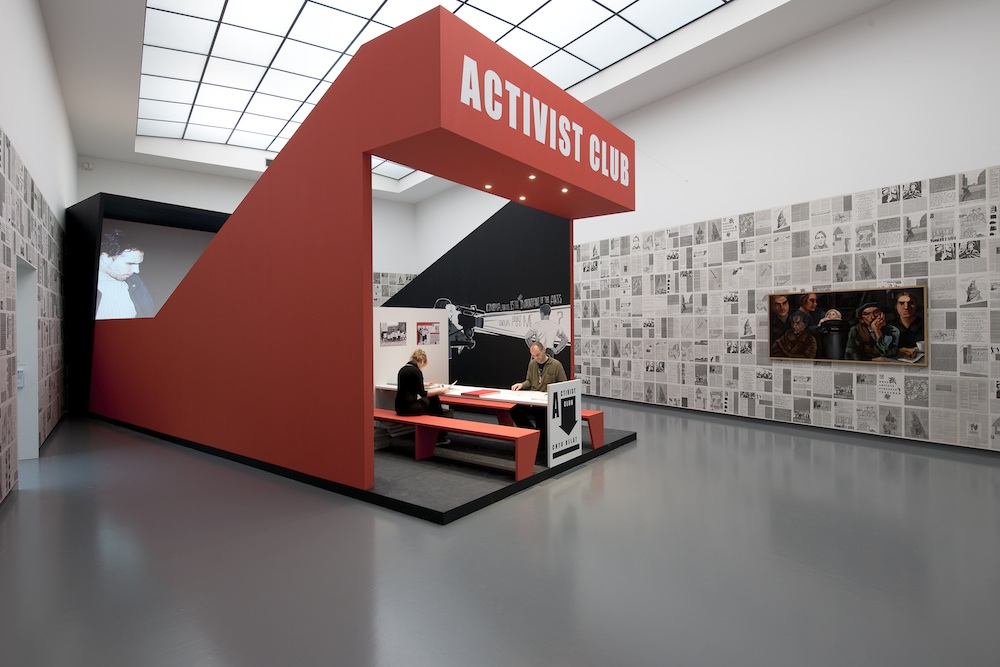 Activist Club | Plug In #51, 2009, installation view at Van Abbemuseum Eindhoven