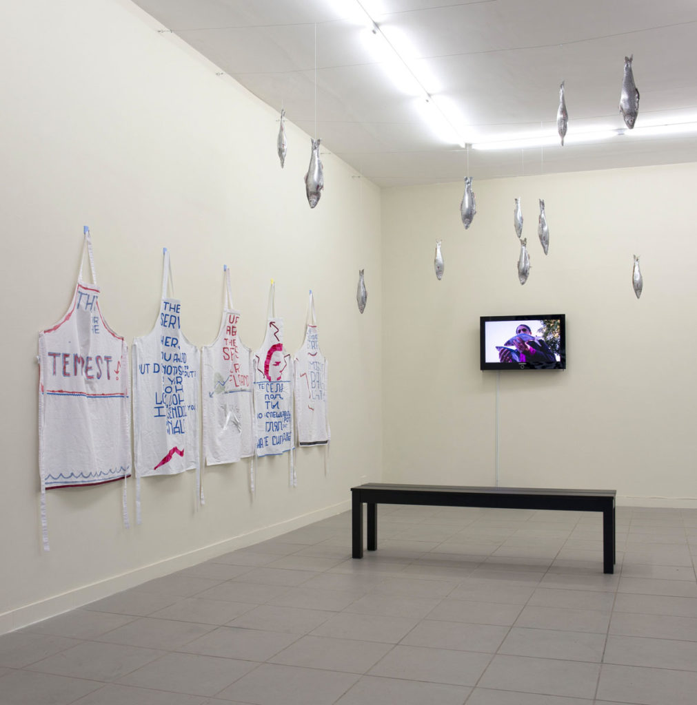 Subterfuge, 2014, installation view at The Gallery Apart Rome, ph. Giorgio Benni