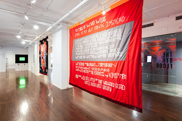 Revolution from Without…, 2019, installation view at The 8th Floor Gallery New York