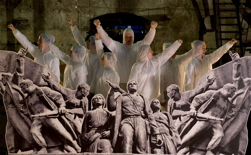 Partisan Songspiel, A Belgrade Story, 2009, production still
