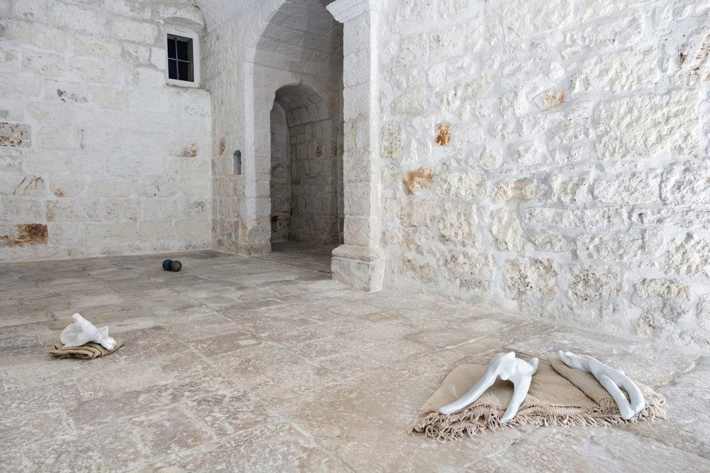Acts of God, 2017, installation view at Exchiesetta, Polignano a Mare. Photo: Letizia Gatti